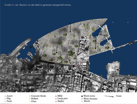 Beirut Field – An idea project by Jan Ackenhausen, Frederic Karam and George Salameh Beirut Field El Hub 07 2013 Body 04